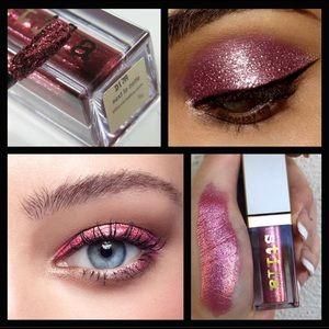 Stila Glitter & Glow✨next to Notte Eyeshadow
